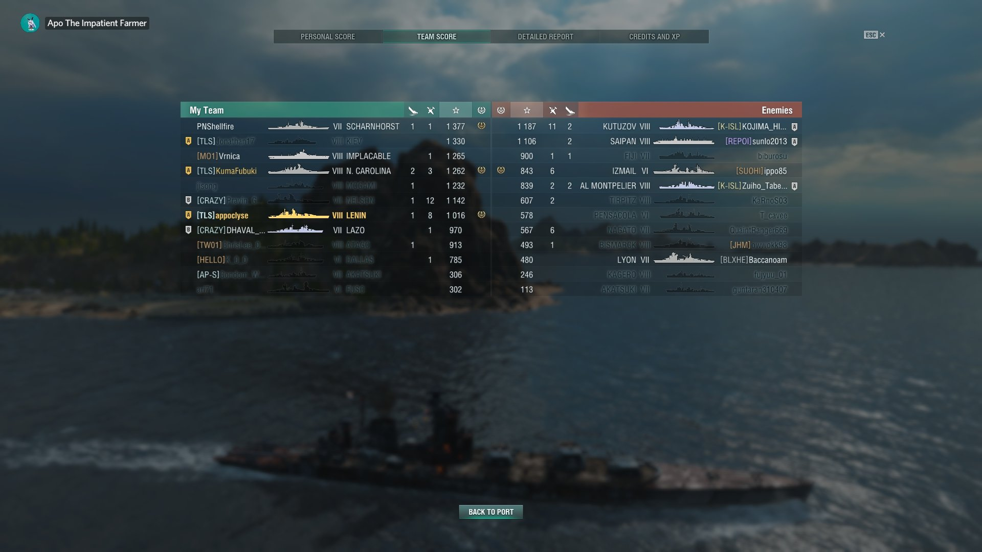 Matchmaking T6